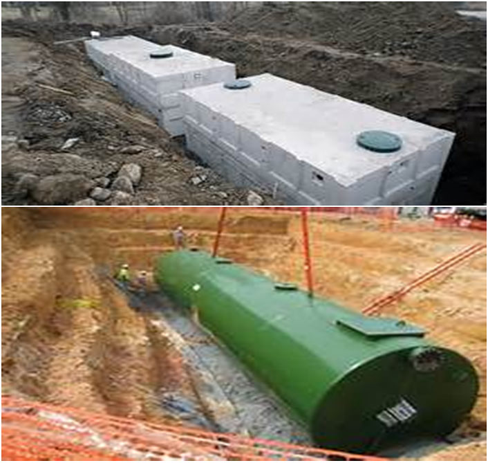 Vaults, Tanks and Pipes